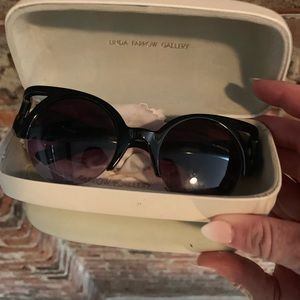 Jeremy Scott x Linda Farrow Gallery Sunglasses